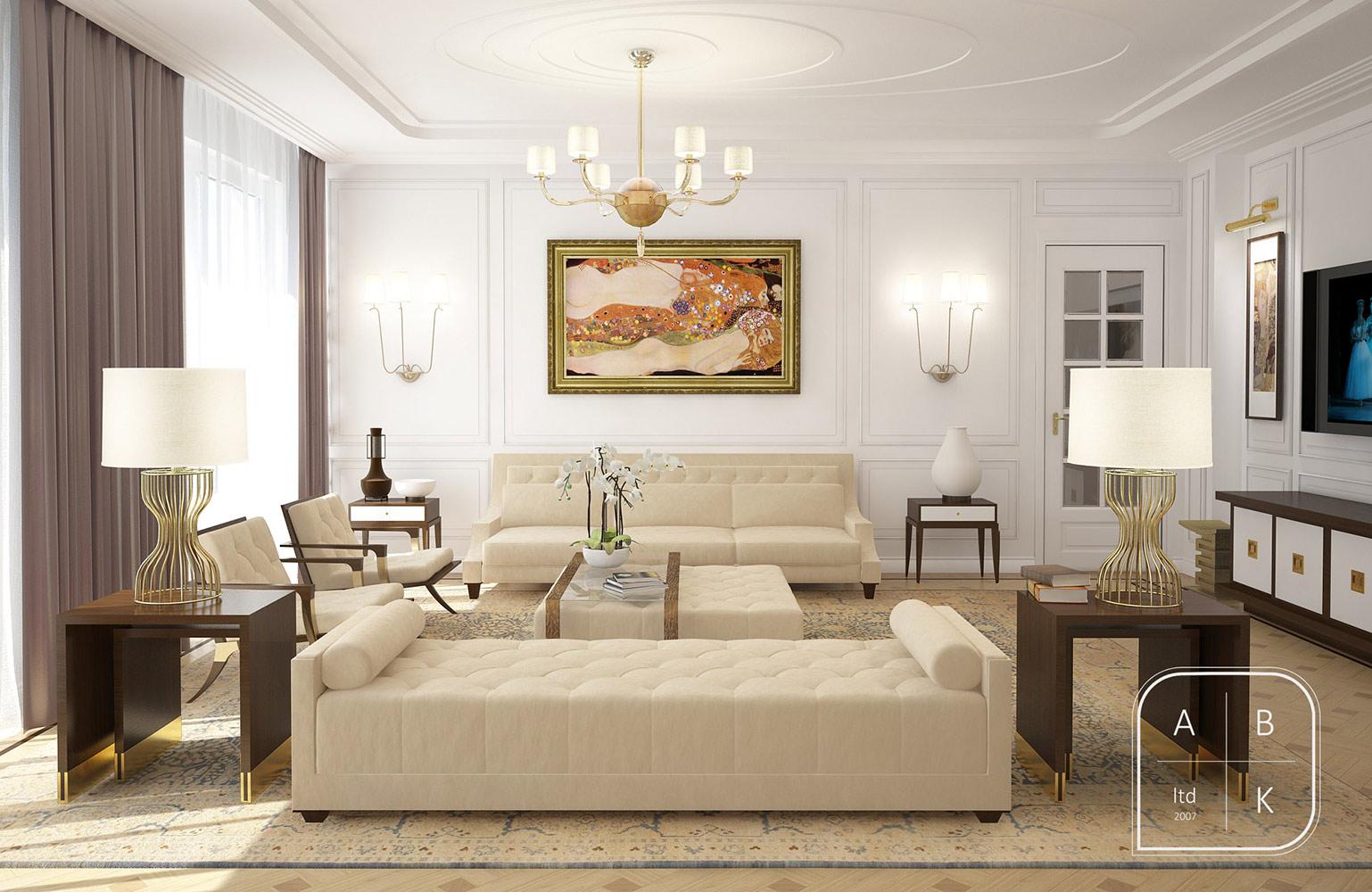 2013 Apartment Interior Living Room