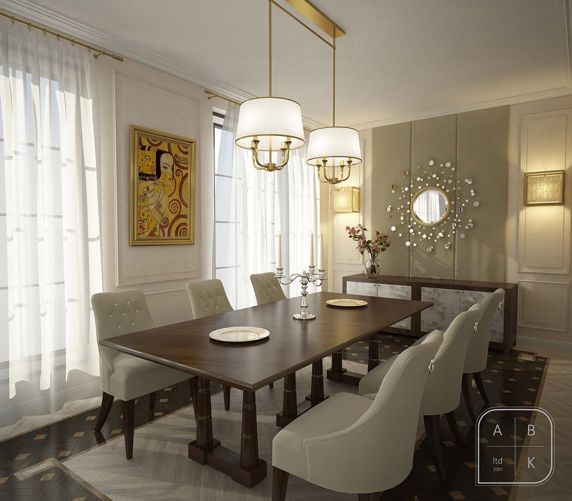 2013 Apartment Interior Dining Room