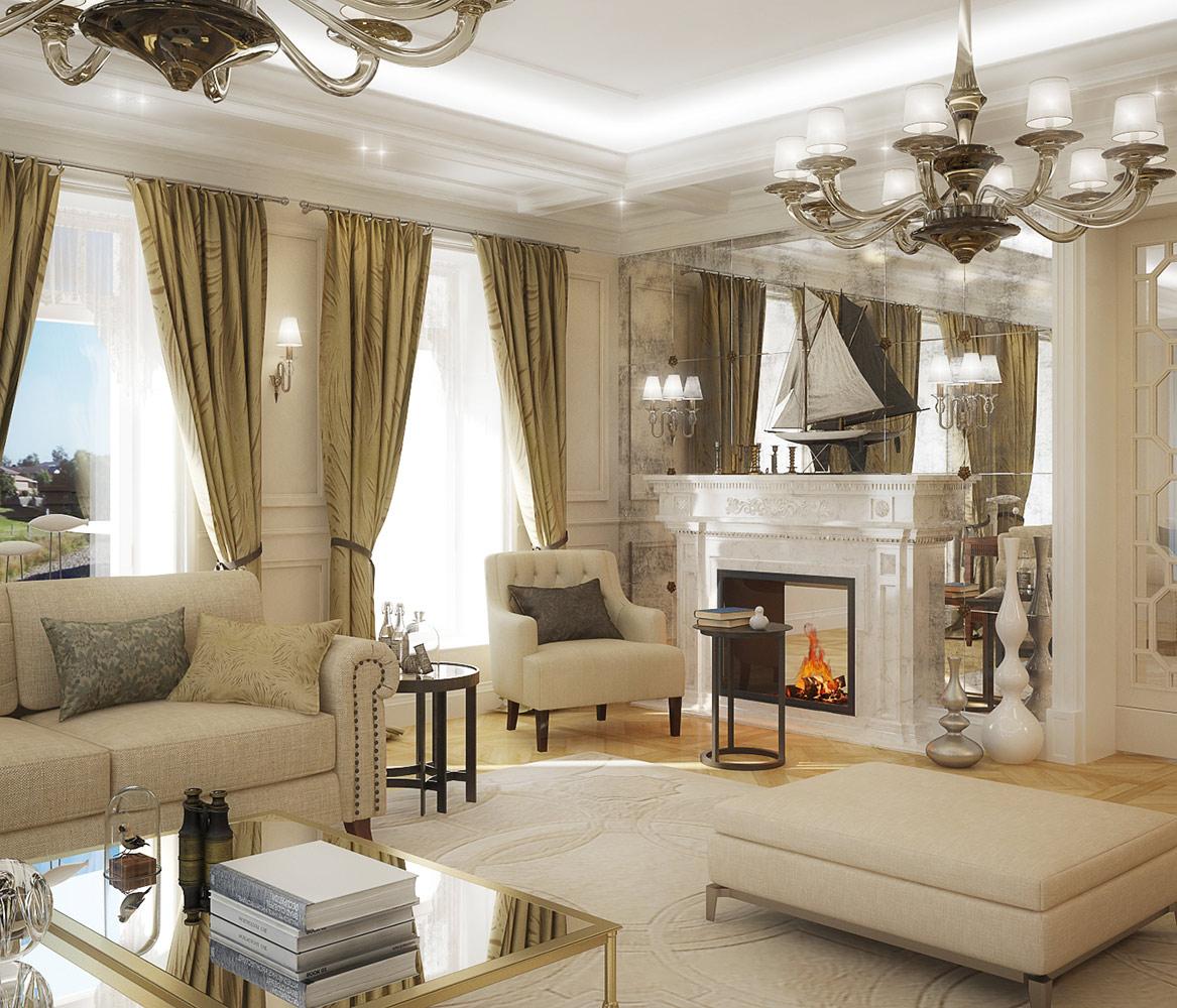 2014 House Interior Saint Petersburg, Russia - ABK ltd. / Bellavilla ltd.
