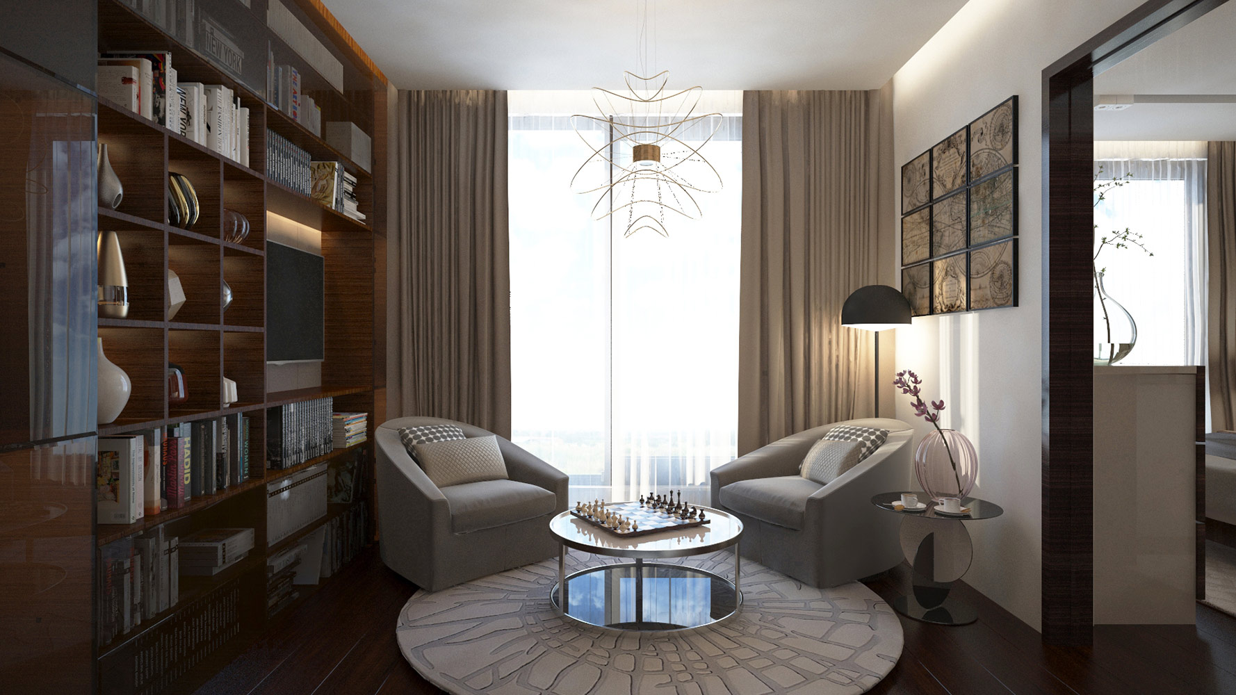 2015 Apartment Interior Sofia