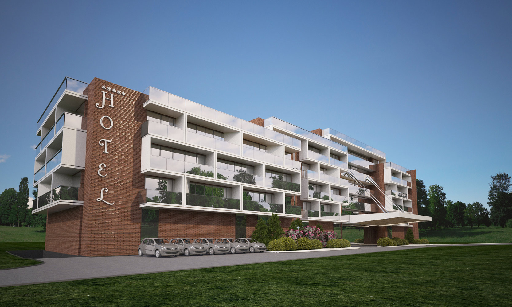 2015 Hotel Hisarya - Brick Exterior