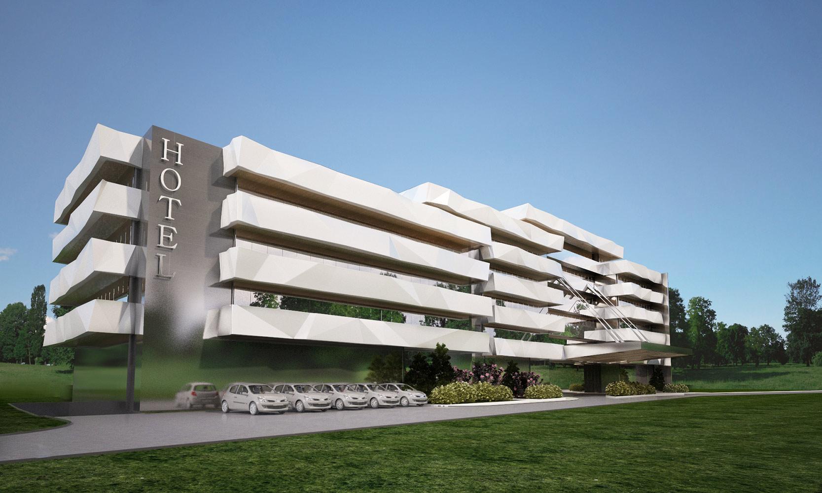 2015 Hotel Hisarya - White Exterior